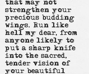 quote, run, and wings image
