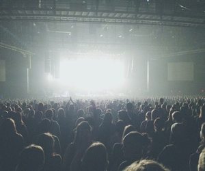 blur, concert, and light image