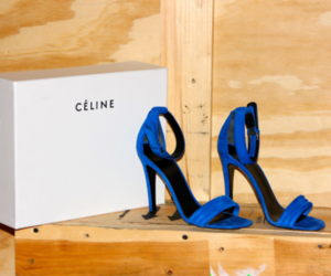 celine and shoes image