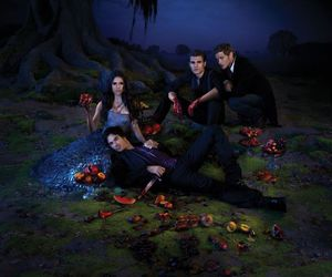 the vampire diaries, ian somerhalder, and paul wesley image