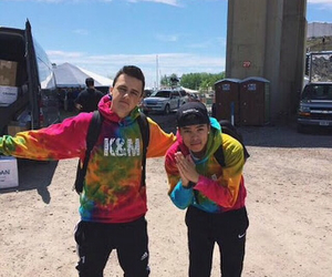 adorable, smile, and kalin and myles image