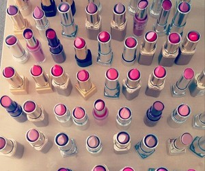 girly, lipstick, and make up image