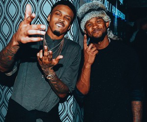 usher and august alsina image
