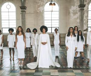 beyoncé, wedding, and white image