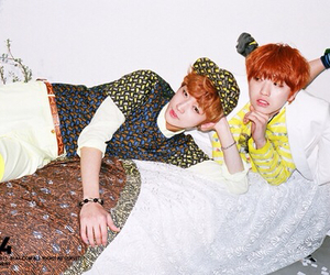 b1a4, sandeul, and jinyoung image
