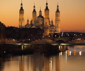spain, beautiful, and zaragoza image