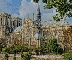 Cathedrale, paris, and notre dame image