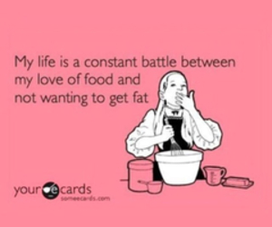 food, fat, and fitness image