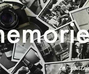 memories and photography image