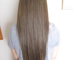 hair, long, and pretty image