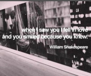 in love, shakespeare, and smile image