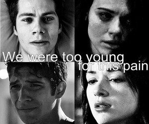 teen wolf, pain, and cry image