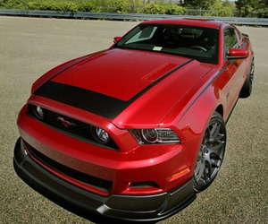 mustang, red, and spec image