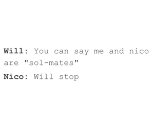 nico di angelo, will solace, and solangelo image