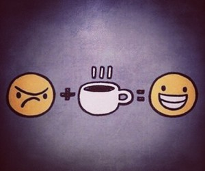 coffee, good morning, and smile image