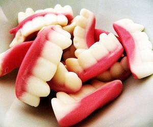sweet, teeth, and candy image