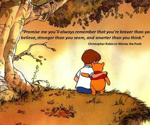 quotes, winnie the pooh, and brave image