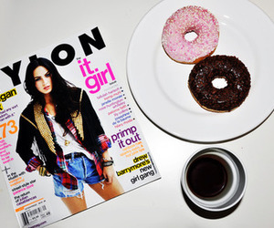 donuts, megan fox, and nylon image