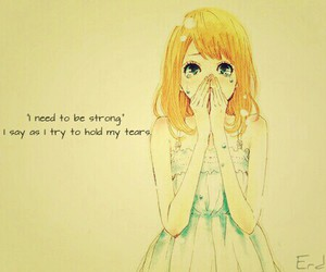 crying, life, and quotes image