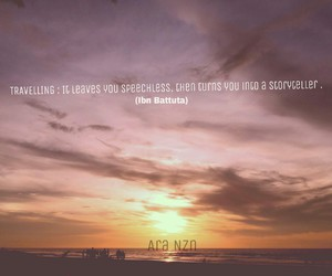 qoute, sky, and travelling image