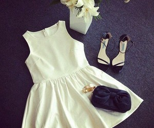 dress, evening, and pretty image