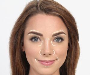 make up, makeup, and concealer image