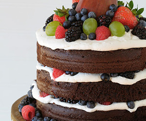 cake, chocolate, and sweets image