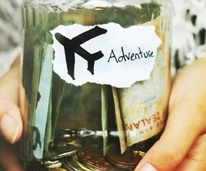 adventure, fly, and money image