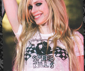 Avril, Avril Lavigne, and concert image