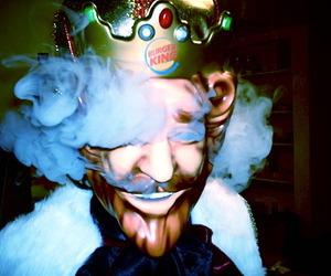 burger king and smoke image
