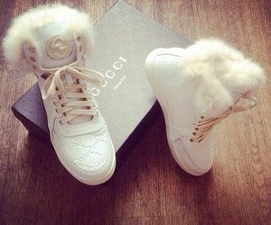 gucci, shoes, and white image