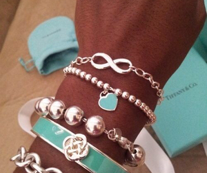 bracelet, tiffany, and accessories image