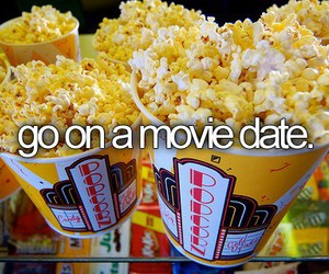 movie, date, and bucket list image