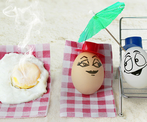 art, eggs, and emotion image
