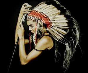 awesome, beautiful, and feather image