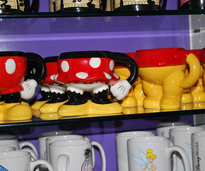 cup, disney, and mickey image