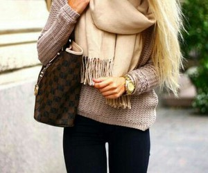 fashion, sweaters, and winter image