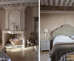 bedroom, interior, and cocooning image