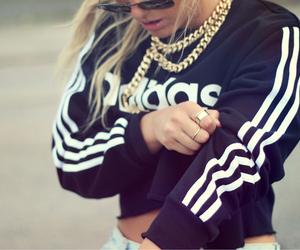 adidas, girl, and swag image