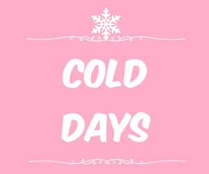 cold, days, and december image