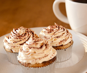 cupcake, food, and coffee image