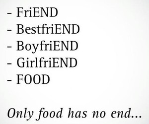 boyfriend, food, and friend image