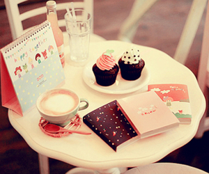 kawaii, table, and cute image
