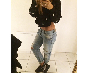 asos, jeans, and boyfriend image