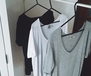 outfit, black, and grey image