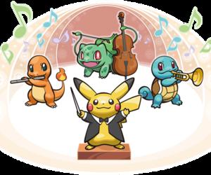 bulbasaur, charmander, and pikachu image