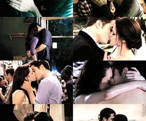 bella swan, edward cullen, and kiss image