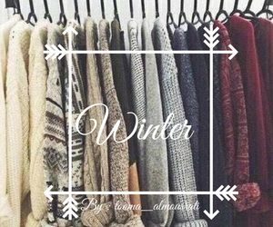 winter, clothes, and christmas image