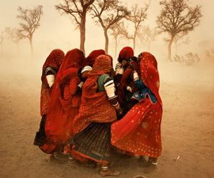 india, photography, and red image