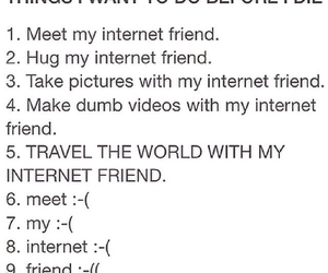 internet and friends image